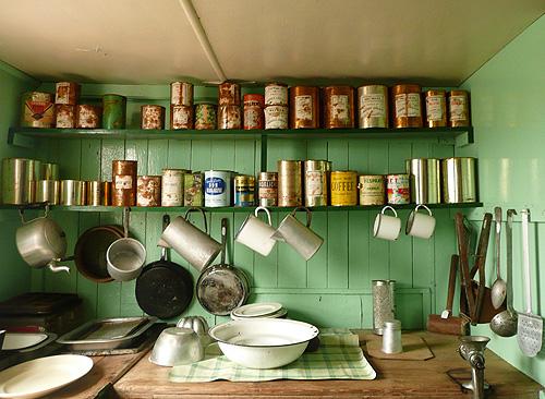The old kitchen of Port Lockroy