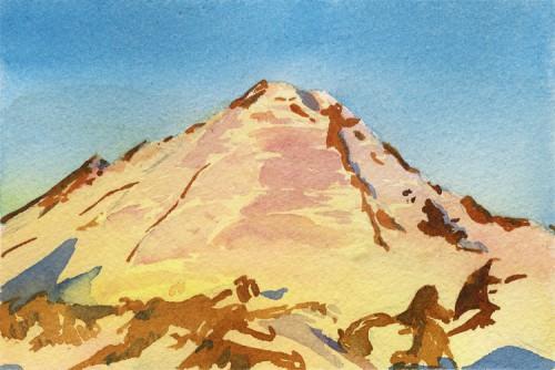 """Baker Sunset Postcard, 6"""" x 4"""""""