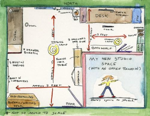Studio Reorganization Expeditionary Art
