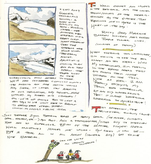Sept 9 field journal, page 2