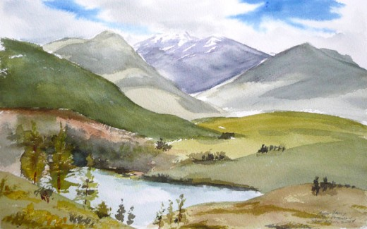 Methow Valley Sketch