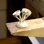 Cast silver