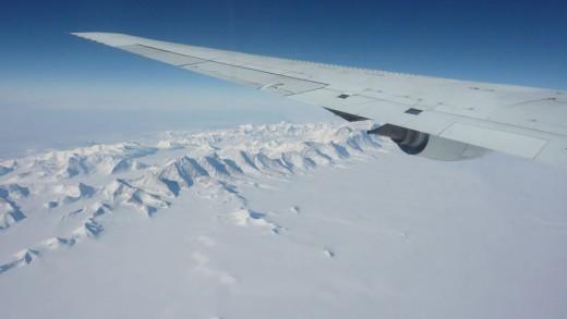 Ellsworth mountains, the highest in Antarctica (Seelye Martin)