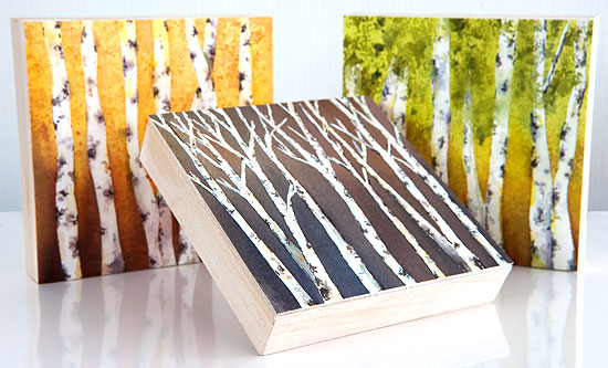 Wood Mounted Prints Expeditionary Art