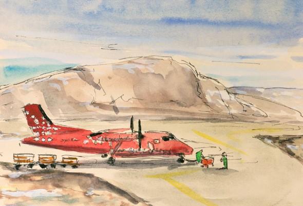 Air Greenland Dash 7