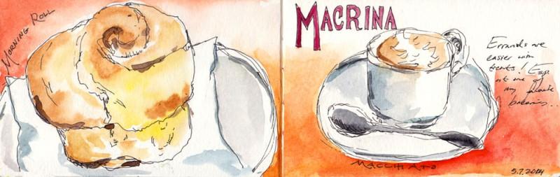 Breakfast at Macrina Bakery Sodo