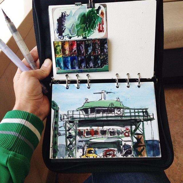 sketching_ferry