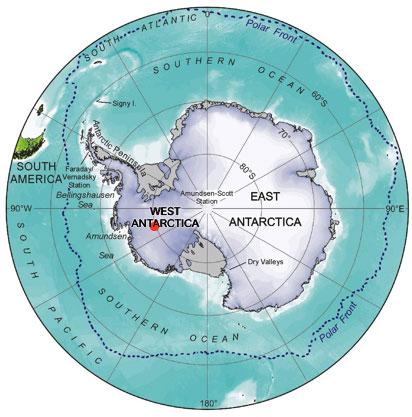 AntarcticMap