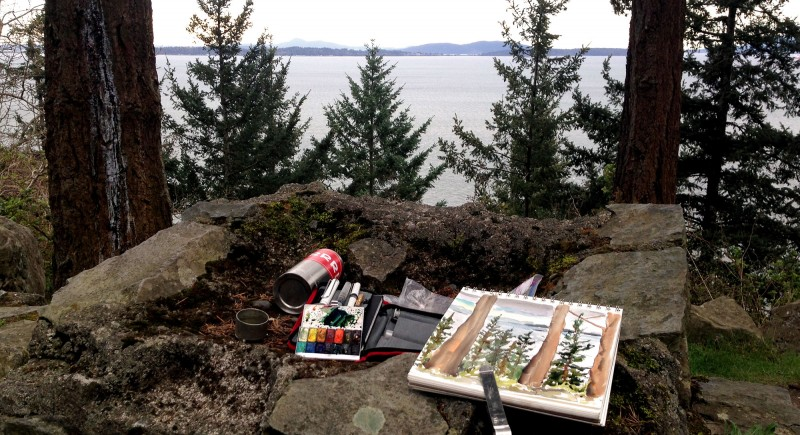 My tools on Chuckanut Drive