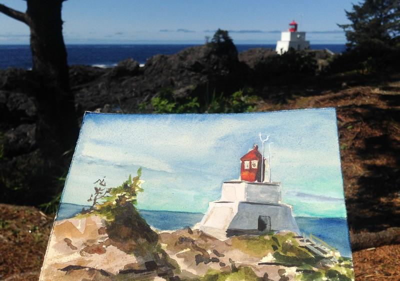 Amphitrite Lighthouse, Ucluelet