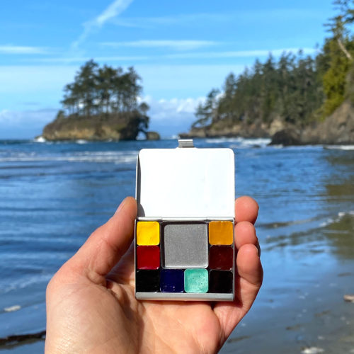 Palettes Of Place The Pacific Northwest Expeditionary Art