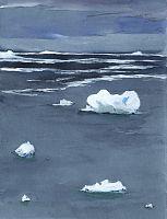 Evening Ice III