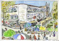 Lhasa Market Corner